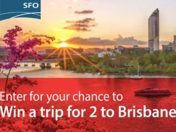 SFO Brisbane Just a Hop Away Sweepstakes
