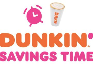 Spring Dunkin' Savings Time (Purchase/Mail-In)