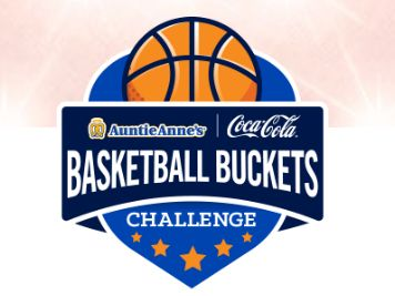 Auntie Anne's Basketball Buckets Challenge Instant Win Game