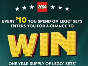 LEGO Masters Sweepstakes (Purchase/Mail-In)
