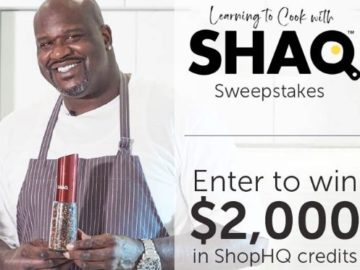 Cooking with Shaq Sweepstakes