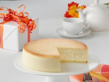 Junior's Holiday Cheesecake Giveaway