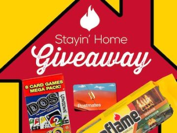 Duraflame Stayin' Home Giveaway - Facebook