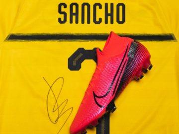 Jadon Sancho Signed Jersey Giveaway