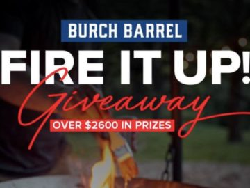 Burch Barrel Fire It Up Giveaway