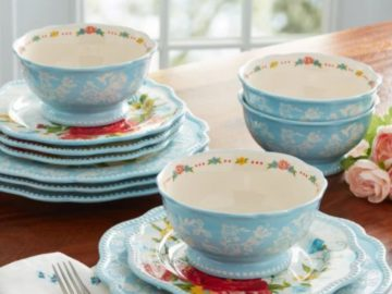 Pioneer Woman Sweet Rose Dinnerware Giveaway