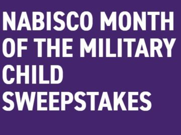 Nabisco Month Of The Military Child Sweepstakes (Military Only)