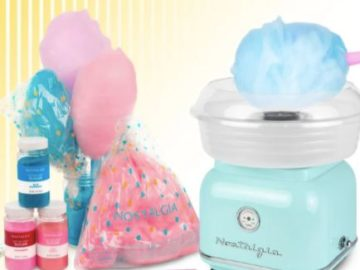 Nostalgia Cotton Candy Maker Giveaway