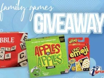 i9 Sports Family Games Giveaway