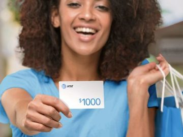 $1,000 AT&T Reward Card Sweepstakes (AT&T/DirecTV Customers)