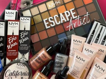 NYX Makeup Be Epic Sweepstakes (Social Media Entry)