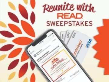 Reunite with Read Virtual Game Night Sweepstakes