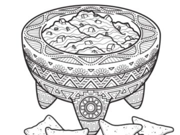 Food Network Magazine May 2020 Color This Dish Contest