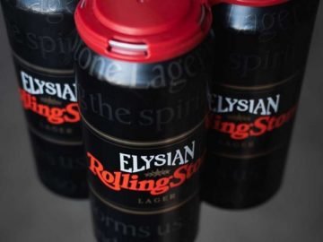 Elysian Rolling Stone Lager Giveaway Sweepstakes