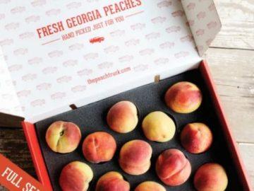Georgia Fresh Peach Truck Sweepstakes