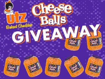 UTZ Ultimate Cheeseball Day Giveaway