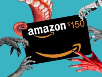 Book Riot $150 Amazon Gift Card Sweepstakes