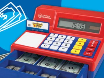 Learning Resources Cash Register 25th Anniversary Sweepstakes
