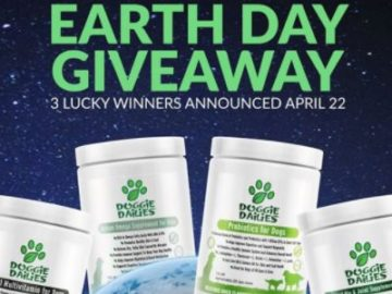 Doggie Dailies Earth Day Giveaway