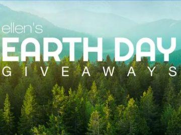 Ellen's Earth Day 2020 Giveaway