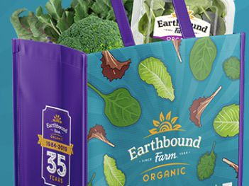 Earthbound Farm 2020 Earth Month Reusable Bag Giveaway
