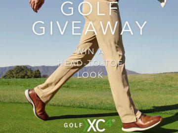 Johnston & Murphy XC4 Golf Giveaway