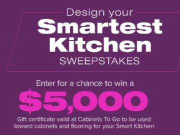 DIY Network Design Your Smartest Kitchen Sweepstakes
