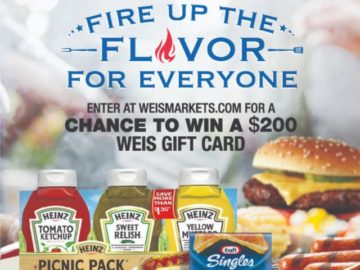 Weis May Monthly Grilling Sweepstakes (Limited States)