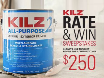 2020 KILZ Rate & Win Sweepstakes