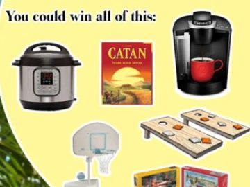 Hapari Social Distancing Stay-at-Home Care Package Sweepstakes