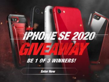 Supcase iPhone SE 2020 Giveaway