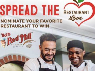 Bob's Red Mill Restaurant Love Contest
