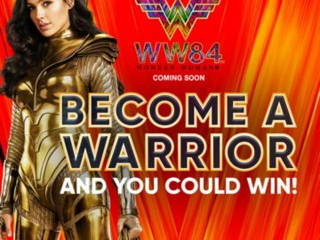 Doritos / Wonder Woman 1984 Sweepstakes (Free Bag Code)