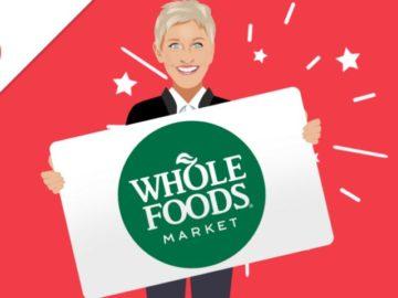 EllenTube Whole Foods Giveaway