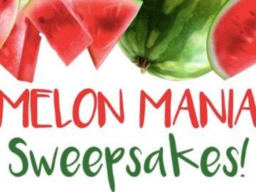 Melon 1 & Farm Star Living Sweepstakes.
