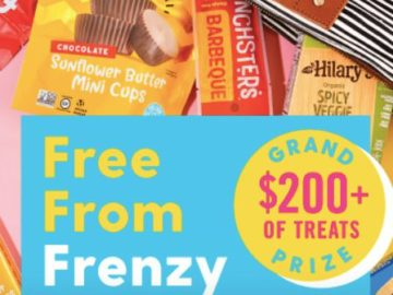 Hilary's Free From Frenzy Giveaway