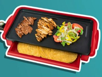 Nostalgia Products Taco Tuesday Fiesta Griddle Giveaway