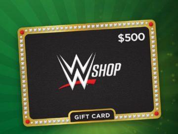 WWE Shop Gift Card Sweepstakes