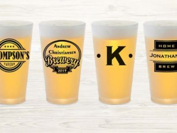 Lillian Vernon Personalized Pint Glass Giveaway