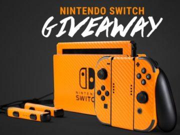 Skinit Nintendo Switch Giveaway