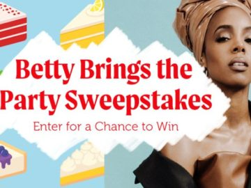 Betty Brings the Party Sweepstakes