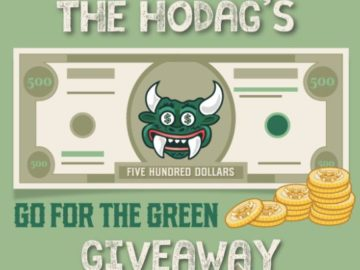 Explore Rhinelander Hodag's Go for the Green Giveaway