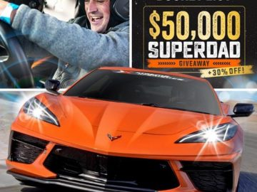 Extreme Experience $50,000 Superdad Father's Day Giveaway