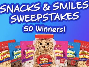 Stauffers Cookies Snacks & Smiles Sweepstakes (Facebook)