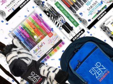 Zebra Pen Back to School Sweepstakes
