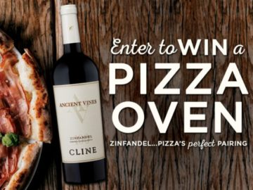 Cline Cellars Pizza's Perfect Pairing Sweepstakes