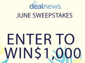 Deal News June Sweepstakes