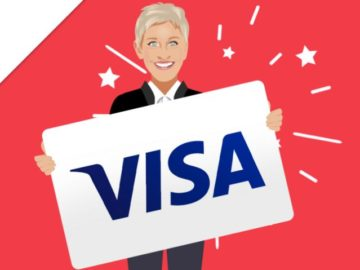 EllenTube $1,000 Visa Gift Card Giveaway