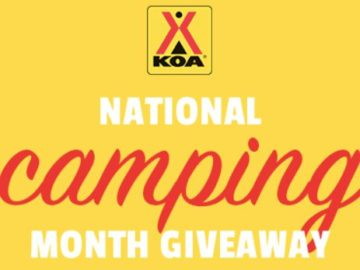 Kampgrounds of America National Camping Month Sweepstakes (Photo)