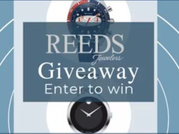 Reeds It's About Time Watch Giveaway
